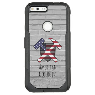 American Geologist Rock Hammers and Shield OtterBox Commuter Google Pixel XL Case