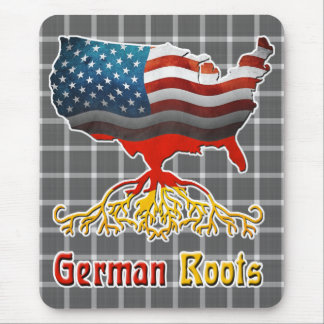American German Roots Mousemat Mouse Pad