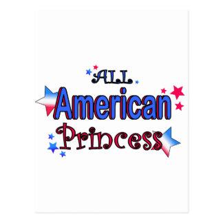American Girl Postcard