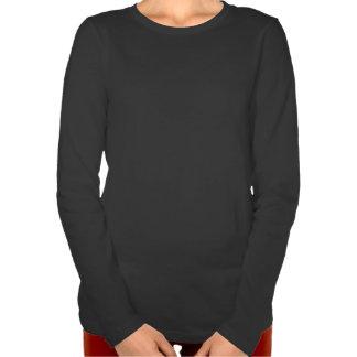 American Girl Silhouette Flag T Shirts
