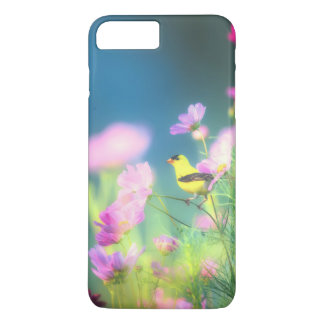American Goldfinch and Coreopsis iPhone 8 Plus/7 Plus Case