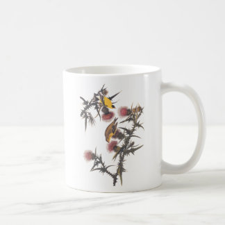 American Goldfinch Audubon Birds of America Coffee Mug