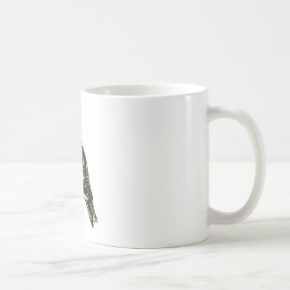 American goldfinch bird art coffee mug