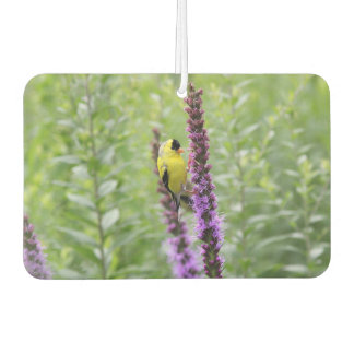 American goldfinch car air freshener