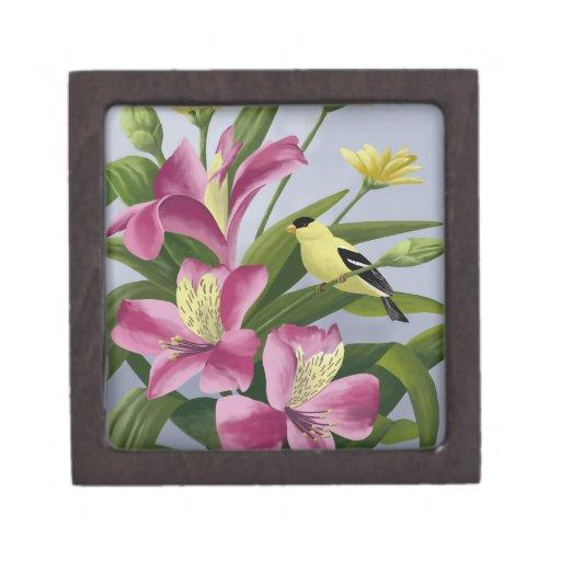 American Goldfinch Gift Box Premium Jewelry Boxes