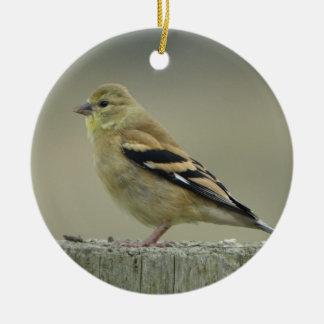 American Goldfinch Ornament