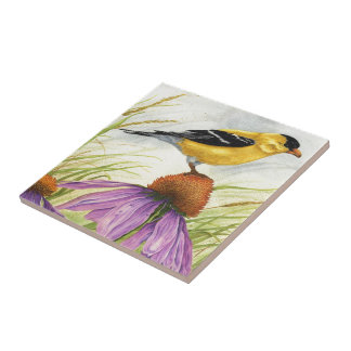 American Goldfinch - Tile