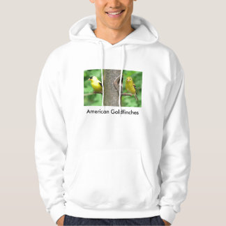 American Goldfinches Hoodie