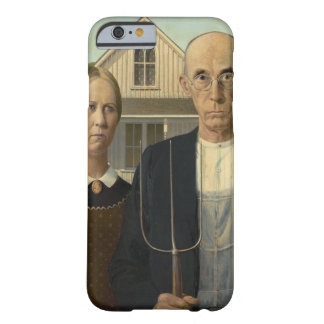 American Gothic by Grant Wood Barely There iPhone 6 Case