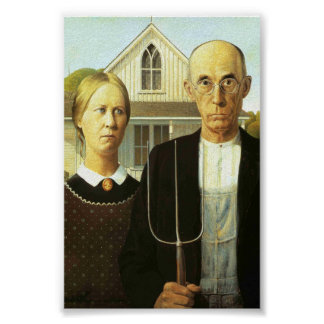 American Gothic (Perfect Quality) Poster