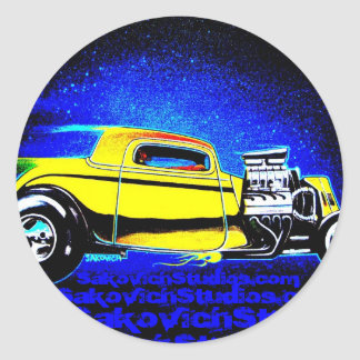 American Graffiti 2009 Sticker