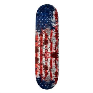 American Graffiti Grunge Custom Pro Park Board Custom Skate Board