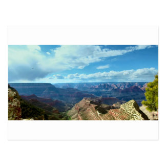 American Grand-canyon mountain ranges landscapes Postcard