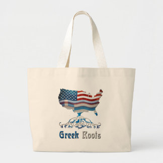 American Greek Roots Tote Bag
