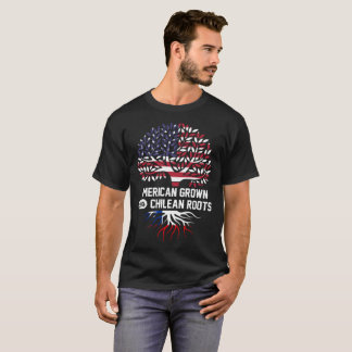 american grown with chilean roots T-Shirt