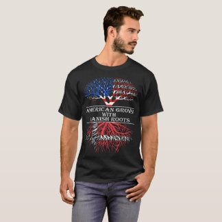American Grown With Danish Roots Tshirt