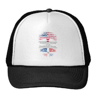 American Grown With Dominican Roots Great Gift Trucker Hat