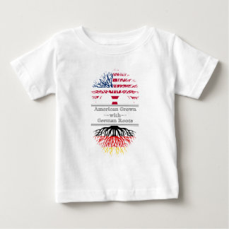 American Grown With German Roots Great Gift Baby T-Shirt
