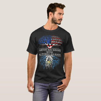 American Grown With Guatemalan Roots Tshirt