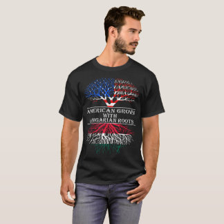 American Grown With Hungarian Roots T-Shirt