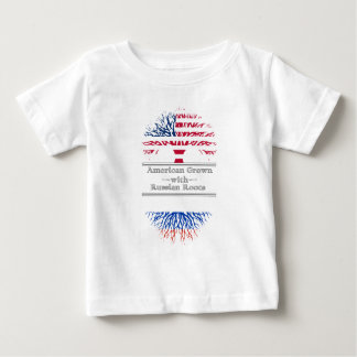 American Grown With Russian Roots Baby T-Shirt