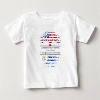 American Grown With Uruguayan Roots Great Gift Baby T-Shirt