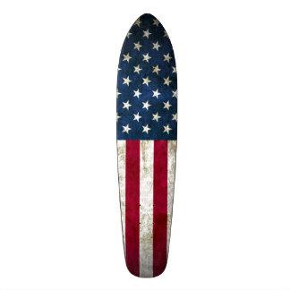 American Grunge Cruiser Custom Pro Long Board Skate Decks