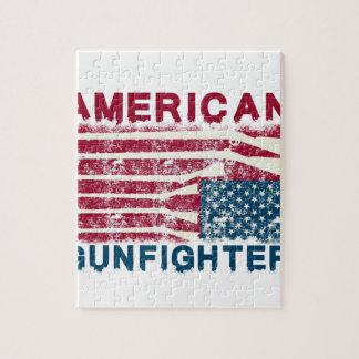 AMERICAN GUNFIGHTER JIGSAW PUZZLE