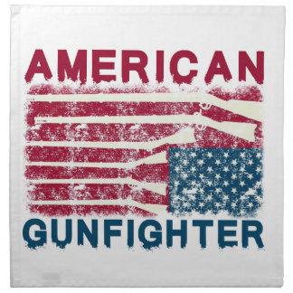 AMERICAN GUNFIGHTER NAPKIN
