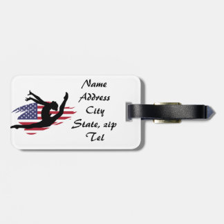 American Gymnast Bag Tag