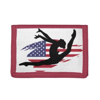 American Gymnast Tri-fold Wallets