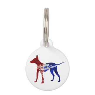 American Hairless Terrier Small Pet Tag