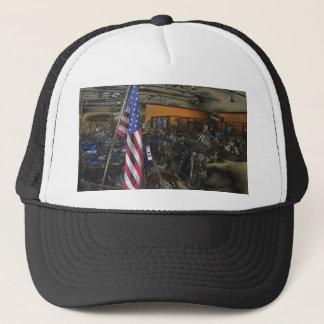 American Harley Davidson Trucker Hat