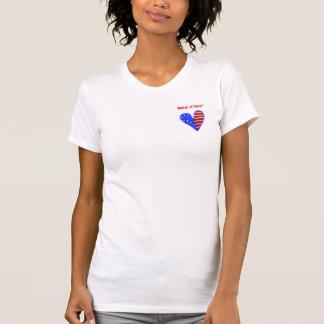 American heart customized matron of honour shirt