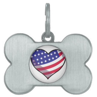American Heart Pet ID Tags