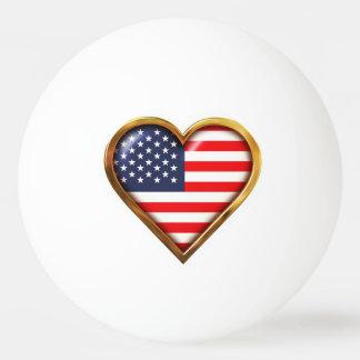 American Heart Ping Pong Ball