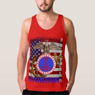 American Heathen--Marines Tank Top