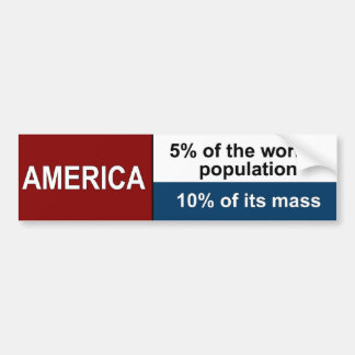 American Heavies Bumper Sticker