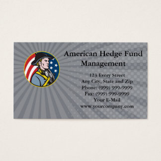 American Hedge Fund Management Business card