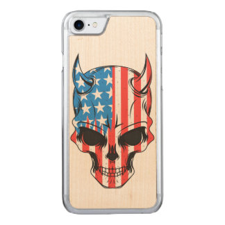 American Hellion Carved iPhone 8/7 Case