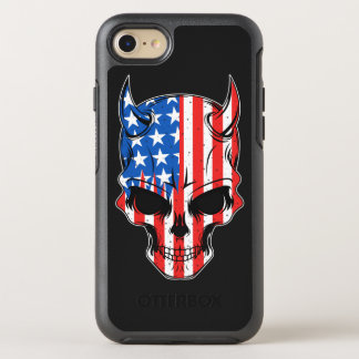 American Hellion Skull OtterBox Symmetry iPhone 8/7 Case