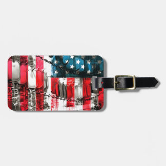 American Heroes Luggage Tag