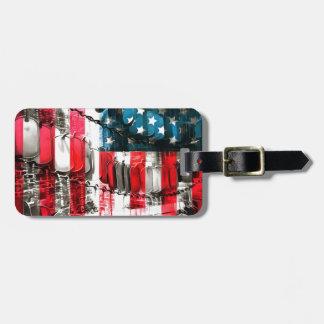American Heroes Luggage Tags