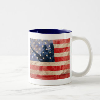 American Heroes Two-Tone Coffee Mug