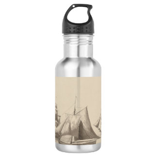 American History - Sailing from Halifax 532 Ml Water Bottle