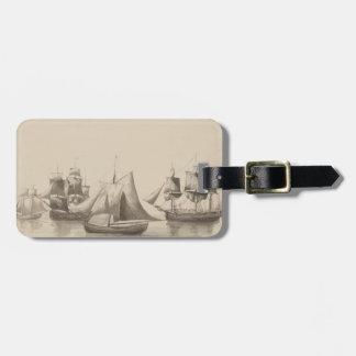 American History - Sailing from Halifax Bag Tag