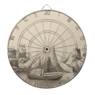 American History - Sailing from Halifax Dartboard