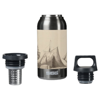 American History - Sailing from Halifax Insulated Water Bottle