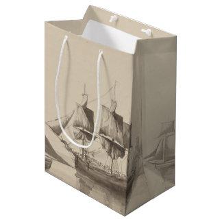 American History - Sailing from Halifax Medium Gift Bag