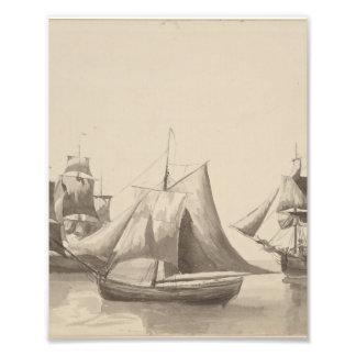 American History - Sailing from Halifax Photo Print